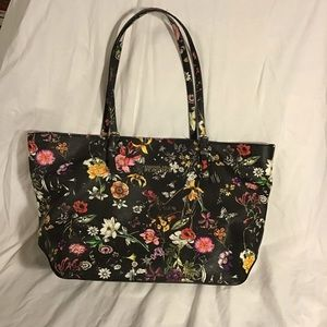 Kenneth Cole Reaction- Vegan Leather Floral Tote